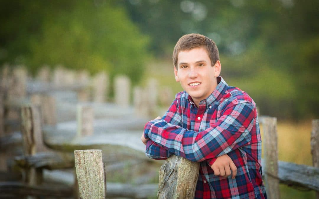 Avery County High School Senior Portrait and Cinemagraph